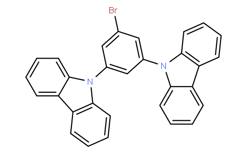YB001036 | 750573-24-1 | 9,9'-(5-bromo-1,3-phenylene)bis(9H-carbazole)