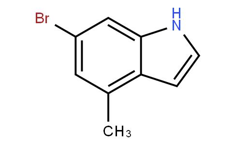 6-bromo-4-methyl-1H-indole | CAS:885520-51-4