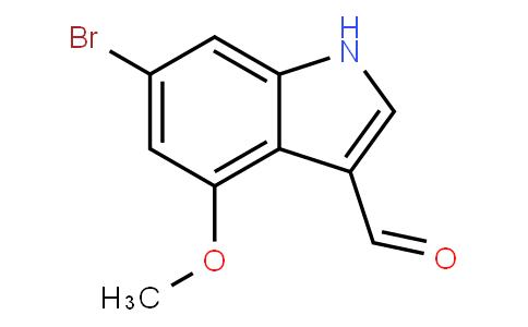 YB001078 | 1202766-19-5 | 6-bromo-4-methoxy-1H-indole-3-carbaldehyde