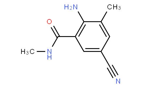 2-Amino-5-cyano-N,3-dimethylbenzamide
