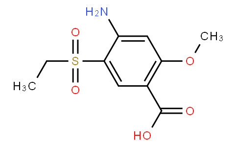 4-Amino-5-ethylsulfonyl-2-methoxybenzoic acid