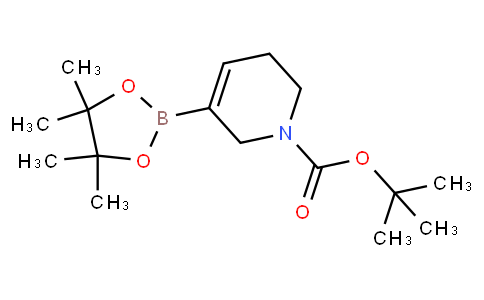 tert-Butyl 3-(4,4,5,5-tetramethyl-1,3,2-dioxaborolan-2-yl)-5,6-dihydropyridine-1(2H)-carboxylate