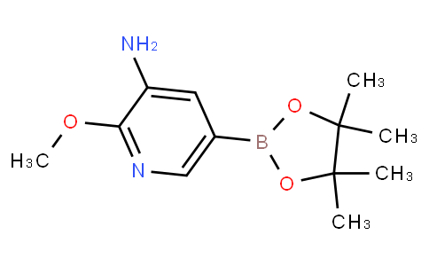 2-Methoxy-5-(4,4,5,5-tetramethyl-[1,3,2] dioxaborolan-2-yl)-pyridin-3-ylamine