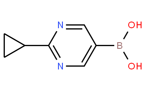 B-(2-Cyclopropyl-5-pyrimidinyl)boronic acid