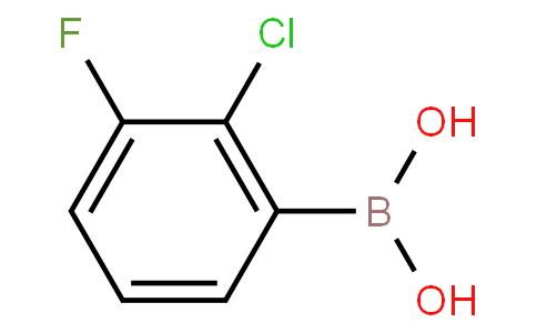2-Chloro-3-fluorophenylboronic acid