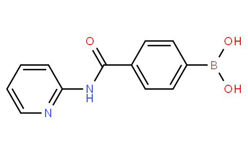 4-(Pyridin-2-yl)aminocarbonylphenylboronicacid