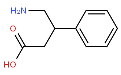 4-Amino-3-phenylbutanoic acid