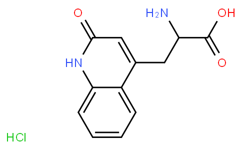 DL-3-(1,2-Dihydro-2-oxo-quinoline-4-yl)alanine hydrochloride