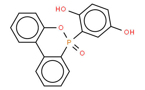 10-(2,5-Dihydroxyphenyl)-10H-9-oxa-10-phospha-phenantbrene-10-oxide