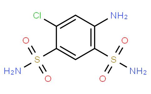 4-Amino-6-chlorobenzene-1,3-disulfonamide