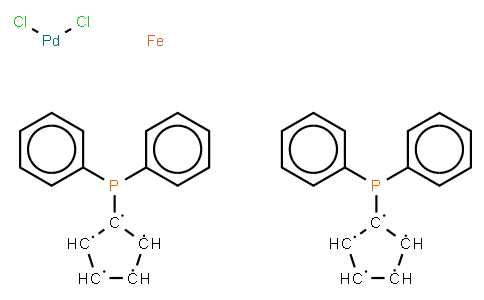 BC10797 | 95464-05-4 | Dichloro[1,1'-bis(diphenylphosphino)ferrocene]palladium(II) dichloromethane adduct