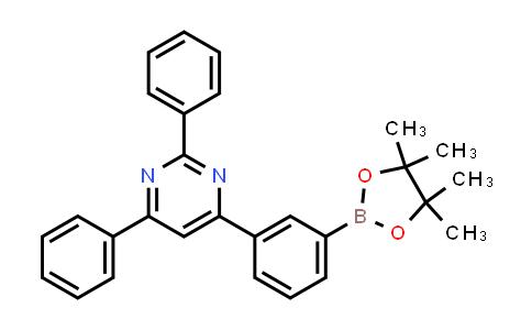 2,4-Diphenyl-6-(3-(4,4,5,5-tetramethyl-1,3,2-dioxaborolan-2-YL)phenyl)pyrimidine