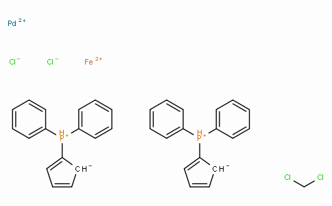CA00007 | 1,1'-Bis(diphenylphosphino)ferrocene-palladium(II)dichloride dichloromethane complex