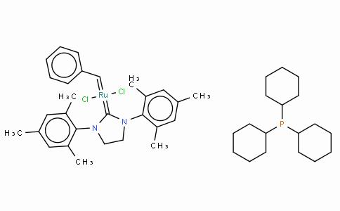 GC10239 | Tricyclohexylphosphine[1,3-bis(2,4,6-trimethylphenyl)-4,5-dihydroimidazol-2-ylidene][benzylidene]rut