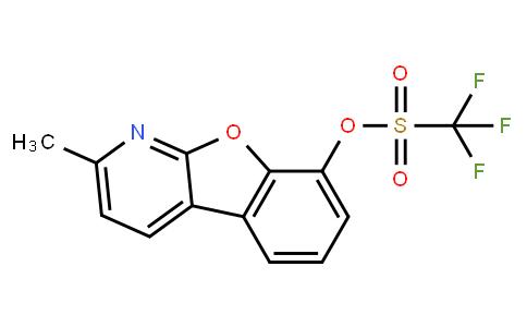 OL10175 | 1609373-98-9 | 2-Methylbenzofuro[2,3-b]pyridin-8-yl trifluoromethanesulfonate