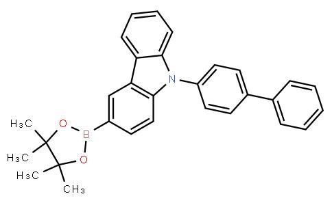 OL10184 | 1391729-66-0 | 9-([1,1'-Biphenyl]-4-yl)-3-(4,4,5,5-tetramethyl-1,3,2-dioxaborolan-2-yl)-9H-carbazole