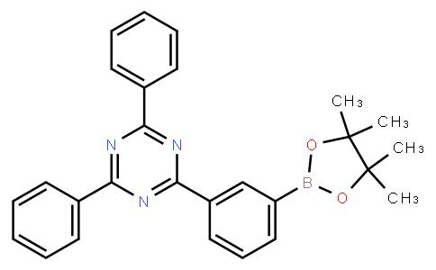 OL10202 | 1269508-31-7 | 2,4-Diphenyl-6-[3-(4,4,5,5-tetramethyl-1,3,2-dioxaborolan-2-yl)phenyl]-1,3,5-triazine
