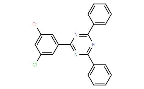 OL10207 | 1073062-42-6 | 2-(3-broMo-5-chlorophenyl)-4,6-diphenyl-1,3,5-triazine