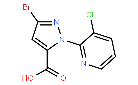 OL10214 | 500011-86-9 | 3-BroMo-1-(3-chloropyridin-2-yl)-1H-pyrazole-5-carboxylic acid