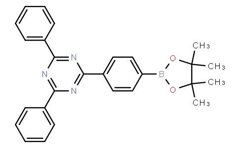 OL10222   1219956-23-6   2,4-diphenyl-6-(4-(4,4,5,5-tetramethyl-1,3,2-dioxaborolan-2-yl)phenyl)-1,3,5-triazine