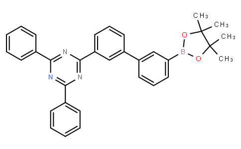 OL10228 | 1802232-96-7 | 2,4-diphenyl-6-[3'-(4,4,5,5-tetramethyl-1,3,2-dioxaborolan-2-yl)[1,1'-biphenyl]-3-yl]-1,3,5-Triazine