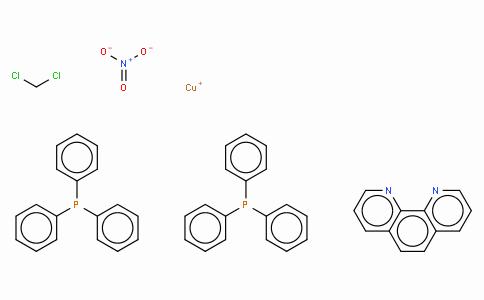 SC10053 | (1,10-Phenanthroline)bis(triphenylphosphine)copper(I) nitrate dichloromethane adduct