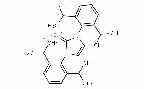 SC10056 | 578743-87-0 | Chloro[1,3-bis(2,6-di-i-propylphenyl)imidazol-2-ylidene]copper(I)