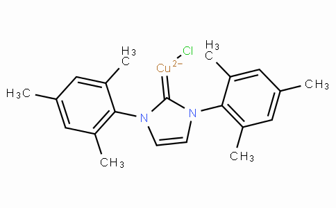 Chloro[1,3-Bis(2,4,6-trimethylphenyl)imidazol-2-ylidene]copper(I)
