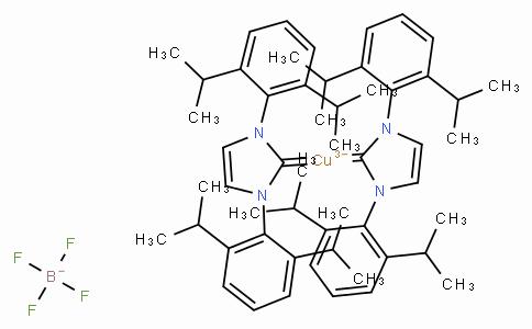 SC10080 | Bis(1,3-bis(2,6-diisopropylphenyl)imidazol-2-ylidene)copper(I) tetrafluoroborate