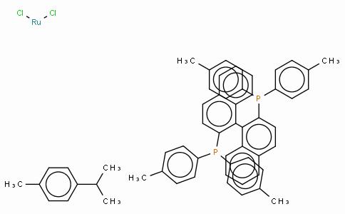 SC10123 | 228120-95-4 | Chloro[(S)-(-)-2,2'-bis(di-p-tolylphosphino)-1,1'-binaphthyl](p-cymene)ruthenium(II) chloride,  [RuCl(p-cymene)((S)-tolbinap)]Cl