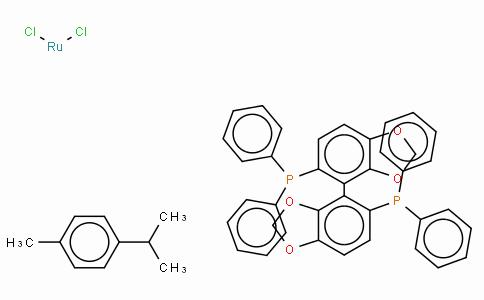 SC10131 | 944451-28-9 | Chloro[(R)-(+)-5,5'-bis(diphenylphosphino)-4,4'-bi-1,3-benzodioxole](p-cymene)ruthenium(II) chloride,  [RuCl(p-cymene)((R)-segphos)]Cl