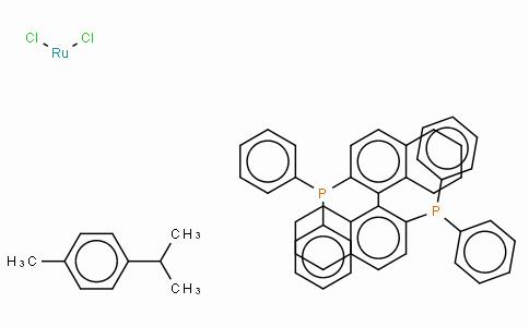 SC10137 | 944451-26-7 | Chloro[(R)-(+)-2,2'-bis(diphenylphosphino)-5,5',6,6',7,7',8,8'-octahydro-1,1'-binaphthyl](p-cymene)ruthenium(II) chloride, [RuCl(p-cymene)((R)-H8-binap)]Cl