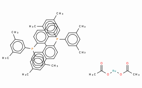 SC10150 | 374067-50-2 | Diacetato{(R)-(+)-2,2'-bis[di(3,5-xylyl)phosphino]-1,1'-binaphthyl}ruthenium(II), Ru(OAc)2[(R)-xylbinap]