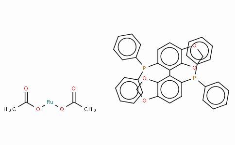 SC10155 | Diacetato[(R)-(+)-5,5'-bis(diphenylphosphino)-4,4'-bi-1,3-benzodioxole]ruthenium(II), Ru(OAc)2[(R)-segphos]
