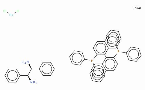 SC10164 | Dichloro[(R)-(+)-2,2'-bis(diphenylphosphino)-1,1'-binaphthyl][(1S,2S)-(-)-1,2-diphenylethylenediamine]ruthenium(II)