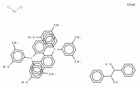 SC10172 | Dichloro{(R)-(+)-2,2'-bis[di(3,5-xylyl)phosphino]-1,1'-binaphthyl}[(1R,2R)-(+)-1,2-diphenylethylenediamine]ruthenium(II), RuCl2[(R)-xylbinap][(R,R)-dpen]