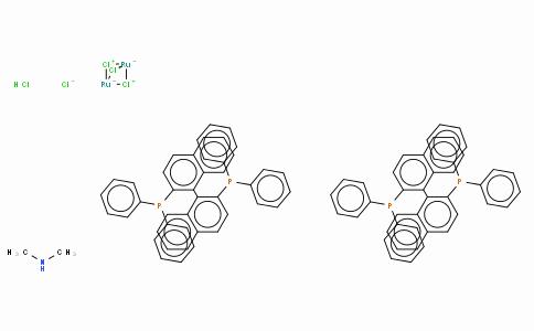 SC10176 | Dimethylammonium dichlorotri(μ-chloro)bis[(R)-(+)-2,2'-bis(diphenylphosphino)-1,1'-binaphthyl]diruthenate(II), [NH2Me2][{RuCl((R)-binap)}2(μ-Cl)3]