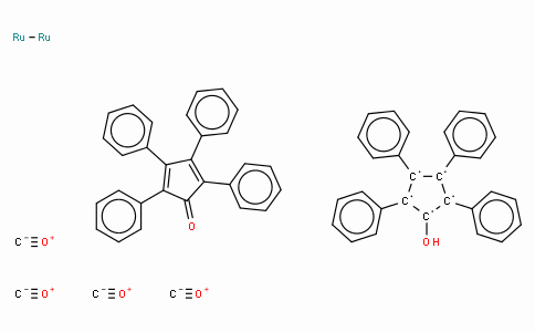 SC10205 | 1-Hydroxytetraphenylcyclopentadienyl(tetraphenyl-2,4-cyclopentadien-1-one)-μ-hydrotetracarbonyldiruthenium(II)