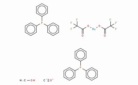 SC10217 | Carbonylbis(trifluoroacetato)bis(triphenylphosphine)ruthenium(II) methanol adduct