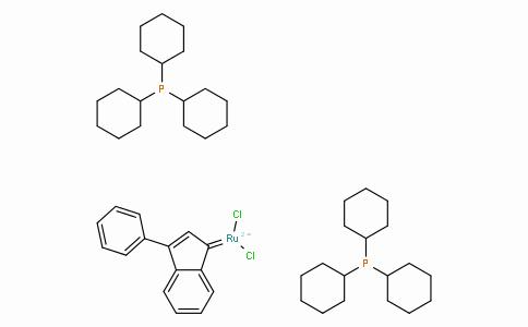 SC10228 | Bis(tricyclohexylphosphine)-3-phenyl-1H-inden-1-ylideneruthenium(II) dichloride