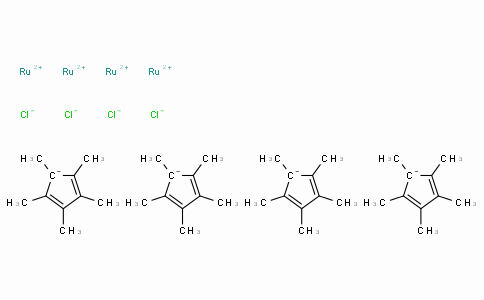 SC10286 | 113860-07-4 | Chloro(pentamethylcyclopentadienyl)ruthenium(II) tetramer