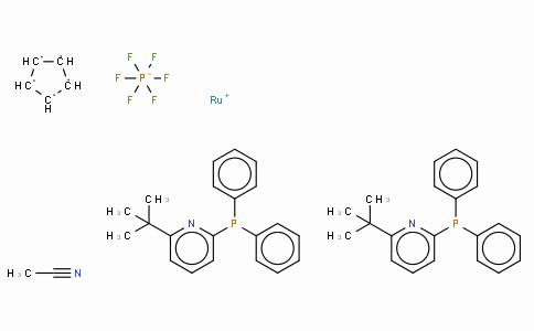 SC10291 | 776230-17-2 | 乙腈双[2 - 二苯基膦基-6 - 叔丁基吡啶]环戊二烯基钌(II)六氟磷酸盐