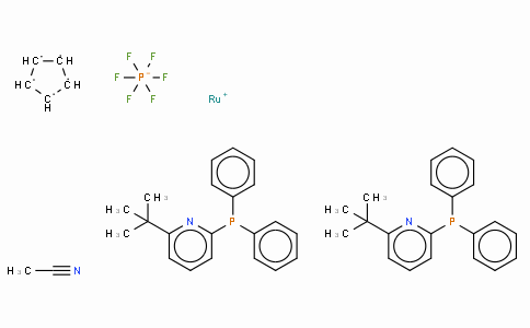 SC10291 | Acetonitrilebis[2-diphenylphosphino-6-t-butylpyridine]cyclopentadienylruthenium(II) hexafluorophosphate