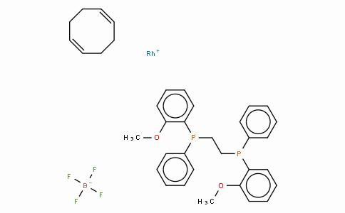 SC10326 | 56977-92-5 | 四氟硼酸(R,R)-(-)-1,2-双[(O-甲氧苯基)(苯基)瞵]乙烷(1,5-环辛二烯)合铑(I)