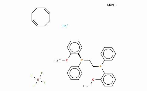 (S,S)-(+)-1,2-Bis[(o-methoxyphenyl)(phenyl)phosphino]ethane(1,5-cyclooctadiene)rhodium(I) tetrafluoroborate