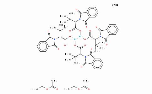 SC10376 | 380375-05-3 | Tetrakis[N-phthaloyl-(R)-tert-leucinato]dirhodium Bis(ethyl Acetate) Adduct