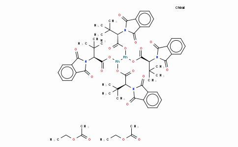 Tetrakis[N-phthaloyl-(S)-tert-leucinato]dirhodium Bis(ethyl Acetate) Adduct