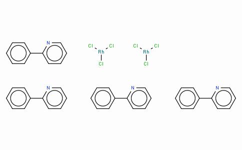SC10389 | Chlorobis(2-phenylpyridine)rhodium(III) dimer