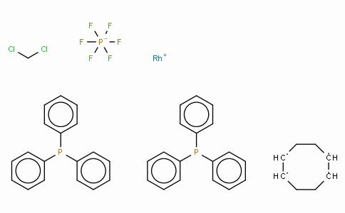 SC10391 | (1,5-Cyclooctadiene)bis(triphenylphosphine)rhodium(I) hexafluorophosphate dichloromethane complex (1:1)