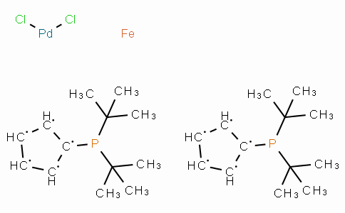 SC10411 | Dichloro[1,1'-bis(di-t-butylphosphino)ferrocene]palladium(II)